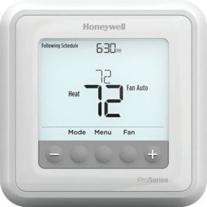 upgrade your home's electrical wiring or thermostats